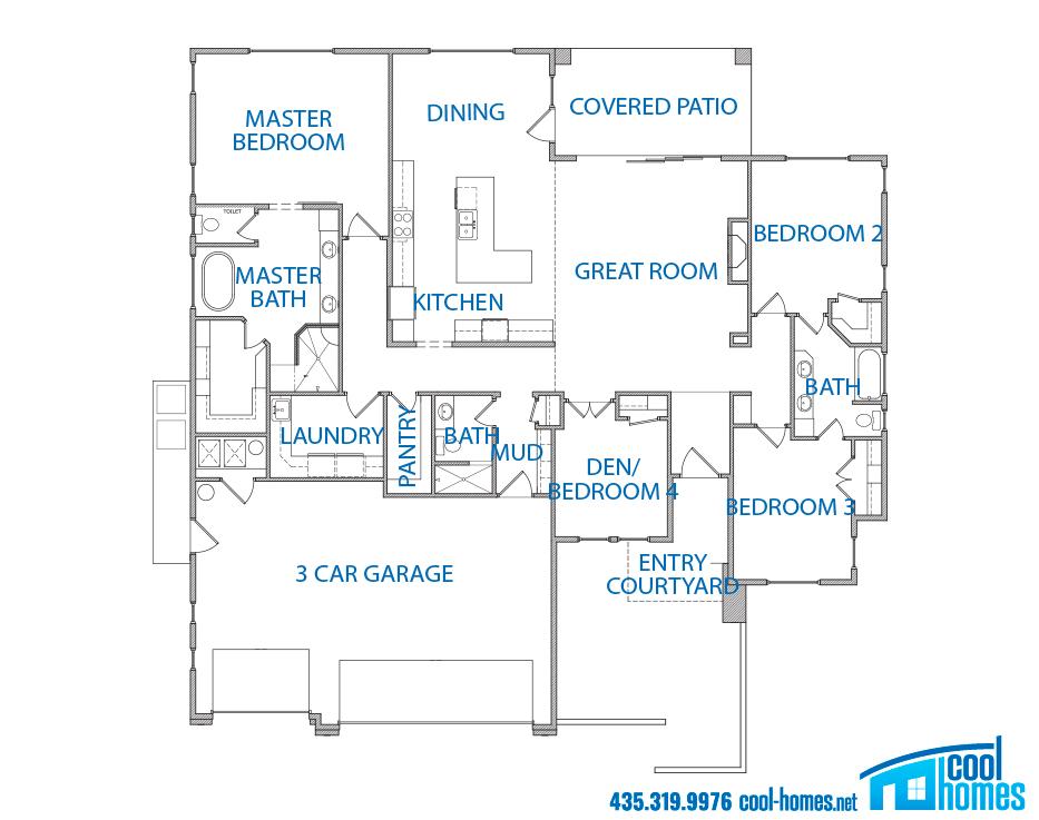 New Home Palisades Ivins Utah Cool Homes